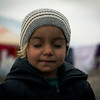 Newly displaced child from Mosul and surrounding areas in Hasan Sham camp where NRC is present providing emergency aid such as food parcels, water and hygiene kits in addition to school support and safe spaces for children. <br /> <br /> Photo: NRC/Hussein Amri