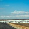 Azraq refugee camp in Jordan, home to more than 27.5k Syrian refugees.<br /> November 17, 2015<br /> Photo: NRC Jordan/ Dara Masri