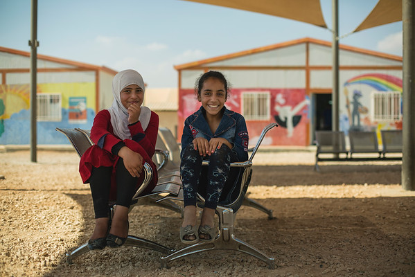 Islam and Amani, 11-year-old girls (Left to right)