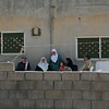 The Syrian and Jordanian family sitting together for a cup of tea in their home in Irbid. <br /> <br /> 11th May 2016.<br /> Photo: NRC/Hussein Amri