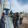 Plumbing class in Zaatari Refugee Camp