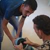 Omar Hariri, Plumbing workshop