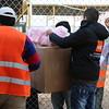 Sanitary pads, hygiene kits and scarfs distribution