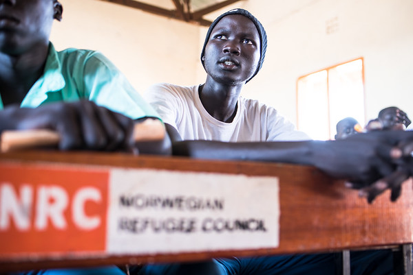 South Sudanese youth in Kakuma Refugee Camp