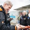 Jan Egeland in the informal tented settlement Arab Rajab in Al Marj in Bekaa. Egeland visited Syrian refugees in the Bekaa Valley in Lebanon on February 25, 2015.  <br /> <br /> Photo: NRC/Tiril Skarstein
