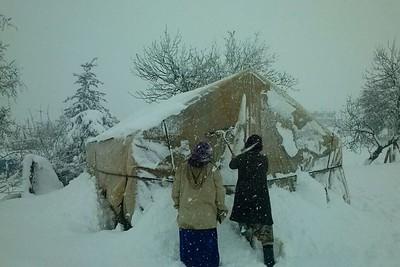 Snow in Lebanon, January 2015