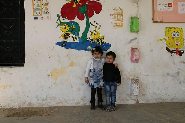 Lara, 6, at NRC Education Centre in Lebanon