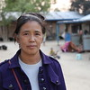 IDP woman in Lisu Camp .