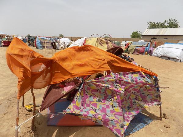 Snapshot of life in an informal settlement in Dikwa