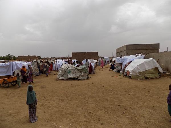 Informal settlement in Dikwa