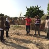 NRC staff visiting IDP settlements in Maiduguri, north eastern Nigeria. Photo: NRC/Siri Elverland