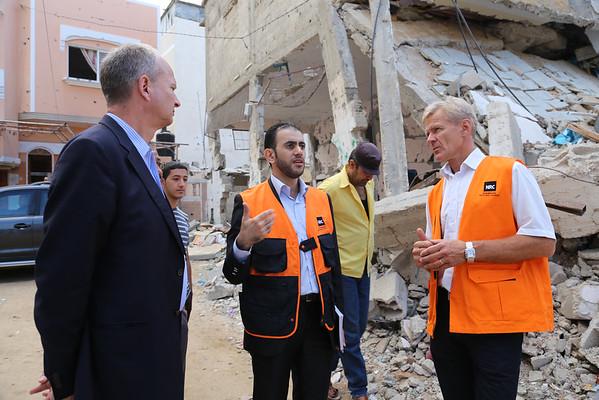Egeland's visit to Gaza