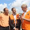 Jan Egeland's Field visit in Beit Hanoun, Gaza, Palestine ,  14 October 2014, photo: Emad Badwan