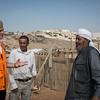 Secretary General Jan Egeland visits the Abu Nuwar Bedouin community close to Maale Adumin settlement. The community is threatened with displacement. Photo: Tiril Skarstein, NRC