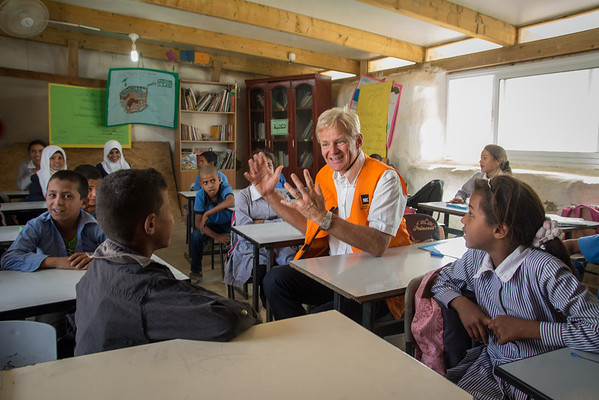Egeland's visit to the West Bank