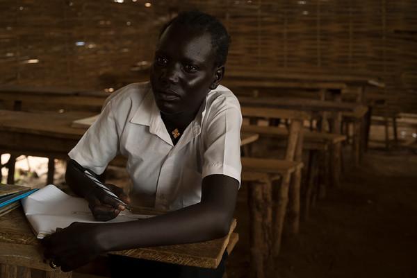 Tibatha studying
