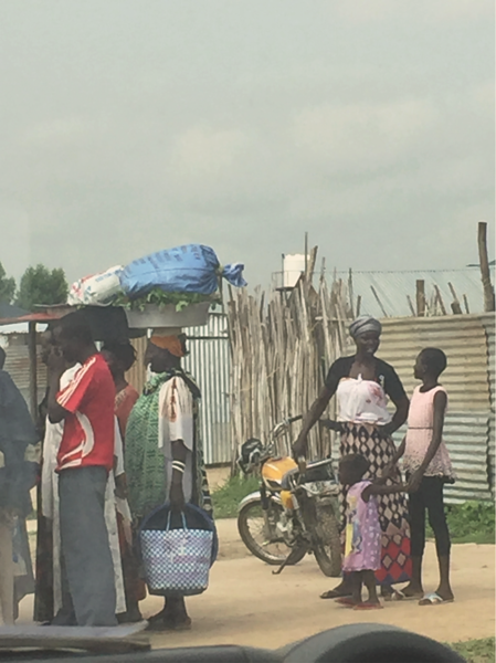 Recent picture taken in Juba, South Sudan after renewed fighting in July 2016. This photo was taken by Carina Hansen partaking in an assessment.