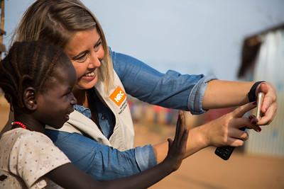 South Sudan staff