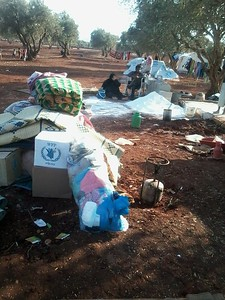 Syria displacement camp