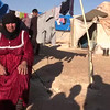 Video: Internally displaced Syrian woman cries in Alharameen informal camp by the Syrian/Turkey border
