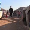 Video: Internally displaced Syrian man with a Crutch