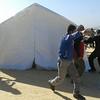 NRC provide tents