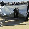 NRC provides tents