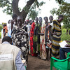 NRC has the right to use and publish these photos for TWO years, until August 2018. Photographer Sofi Lundin to be credited every time they are published.<br /> <br /> Adjumani, north Uganda, August 2016. <br /> <br /> Women standing in line in the Maaji II settlement to receive a receit they can deliver in exchange for household materials ditributed by NRC.<br /> <br /> NRC assists refugees having crossed into north Uganda after the renewed fighting in South Sudan. Between 7 July and 25 August, close to 95,000 South Sudanese refugees crossed into north Uganda<br /> <br /> Photo: Sofi Lundin