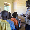 NRC has the right to use and publish these photos for TWO years, until August 2018. Photographer Sofi Lundin to be credited every time they are published.<br /> <br /> Adjumani, north Uganda, August 2016. <br /> <br /> NRC distributes school books and other shcool materials in schools in Adjumani and Arua. At this school in the Nyumanzi settlement, there are 845 pupils, among who 498 are refugees and 347 are local children. School Principal Dramoyo Ben Ozi tells that new refugees are arriving every day and the schools seven class rooms are not enough.<br /> <br /> NRC assists refugees having crossed into north Uganda after the renewed fighting in South Sudan. Between 7 July and 25 August, close to 95,000 South Sudanese refugees crossed into north Uganda<br /> <br /> Photo: Sofi Lundin