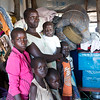 """NRC has the right to use and publish these photos for TWO years, until August 2018. Photographer Sofi Lundin to be credited every time they are published.<br /> <br /> Adjumani, north Uganda, August 2016. <br /> <br /> About 90 percent of all South Sudanese refugees in Uganda are women and children. Agnes Drabua (35) sits together with her five children in the newly opened settlement Pagirinya. As the majority of women here, she came alone with her children across the border.<br /> <br /> """"We are peaceful people. I only want peace and a safe future for my children,"""" says Drabua.<br /> <br /> <br /> ---<br /> <br /> NRC assists refugees having crossed into north Uganda after the renewed fighting in South Sudan. Between 7 July and 25 August, close to 95,000 South Sudanese refugees crossed into north Uganda<br /> <br /> Photo: Sofi Lundin"""