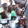 """NRC has the right to use and publish these photos for TWO years, until August 2018. Photographer Sofi Lundin to be credited every time they are published.<br /> <br /> Adjumani, north Uganda, August 2016. <br /> <br /> People stand in line for hours by the food distribution in Nyumanzi. """"We have to distribute lunch and supper at the same time to make sure everyone receives their ration,"""" says Jamilla Tassim in Danish Refugee Council (DRC).<br /> <br /> NRC assists refugees having crossed into north Uganda after the renewed fighting in South Sudan. Between 7 July and 25 August, close to 95,000 South Sudanese refugees crossed into north Uganda<br /> <br /> Photo: Sofi Lundin"""