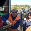 Chicken Distribution in Muratove village, Luhansk oblast