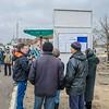 ICLA at Pedestrian Crossing Point in Luhansk oblast