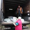 Lidiia receiving construction materials