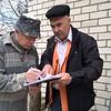 Viktor with Shelter engineer Oleksandr Prokopov