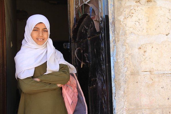 "When we asked Alanoud what she wants to be when she grows up, she answered immediately: ""I want to become a doctor,"" adding ""I will not charge people, because people have no salaries now and they can't afford healthcare."" At only 12 years old, Alanoud already understands all too well the drastic impact that the current economic crisis in Yemen is having on ordinary people.<br /> Photo: Nuha Mohammed/NRC"