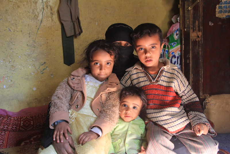 """""""Can you imagine looking at your children each morning, and knowing that no matter what you do they aren't going to get enough to eat that day?"""" Nojoud, a resident of Amran – north of the capital Sana'a – told NRC.<br /> <br /> Photo : Nuha Mohammed /NRC"""