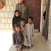 """Father: Ali. Mother: Ghazal. 5 children here: Ramz (12), Tareq (8), Riyad (7), Haytham (2) baby Zara (4 months). Grandmother: Jeida. <br /> <br /> Two families live in two separate rooms at the school, while the rest of the school still operates for the local kids, and the kids of the two families. <br /> <br /> Ali: <br /> """"I used to have a workshop where I fixed cars, but it was hit by an airstrike. We lost everything. An airstrike also hit close to our home, and damaged our house, we could not stay there.""""<br /> <br /> """"We fled in a car, it was twenty of us, all in one car."""" """"People in this village were so kind and let us stay here"""" <br /> <br /> """"We don't want to stay in a settlement, it is shameful. My sister has a mental illness, she needs special care, we need to look after her""""<br /> <br /> """"If the airstrikes stop, definitely we will go back"""" <br /> <br /> """"When we hear the jets over us, even here, we get scared, as they might hit the school""""<br /> <br /> """"My mentally ill sister's situation was better before, but now, after the airstrikes, she has become unable to restrain natural discharges. She needs a lot of special care.""""<br /> <br /> """"We were in a good situation, we did not need anything, now we cannot do anything."""" <br /> <br /> """"I go and work at the khat farms, my bother-in-law repairs cars, I help him, and we got some blankets and other things we need from NRC.""""<br /> <br /> <br /> Rahzal: <br /> """"We had everything we needed, a house, everything, now we all live together in this small room."""" <br /> <br /> """"It was hard to have this baby under these circumstances""""<br /> <br /> Photo: NRC/Alvhild Stromme"""