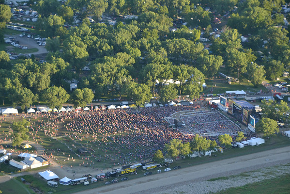 Aerial Photos Country Stampede