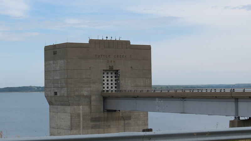 Tuttle Creek Dam<br /> (Rachel Kamm | Collegian Media)