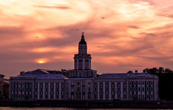 Kunstkamera museum, Saint-Petersburg