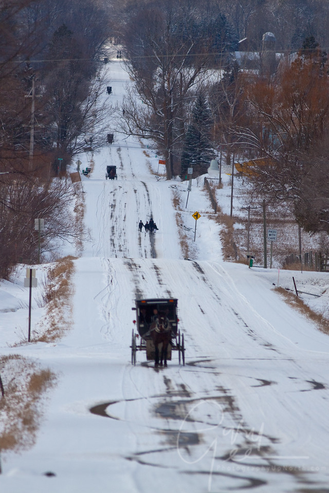 Sunday afternoon in Amish Country, Mio Michigan.