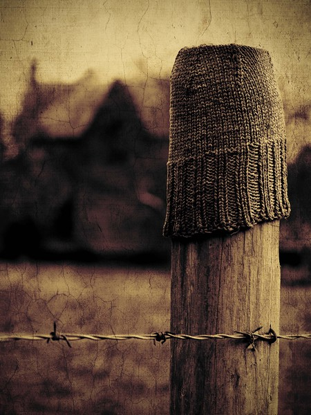 Fence post9x12