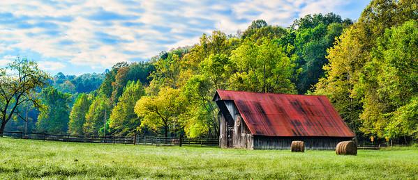 Oct 8 - Barn near Water Smith Park in West Virginia
