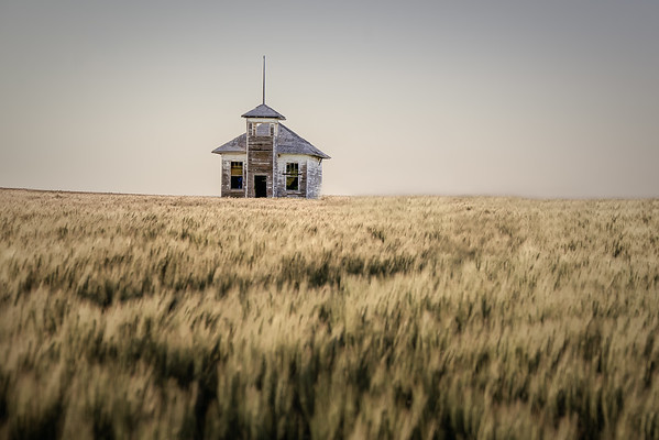 July 10 - Abandoned School House<br /> <br /> Old one room school house on the northern prairie of Montana
