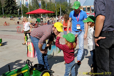 Recruiting talent for the Great John Deere Tractor Race