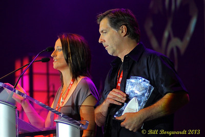 Tera Lee & Greg Shannon - On-air Personalities of the Year - Secondary Market - KG Mornings - CKGY-FM - Red Deer, AB - Industry Lunch