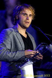 Adam Gregory - 2013 Slaight Music Humanitarian Award recipient - Gala Dinner & Awards Presentation