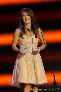 Kira Isabella - Female Artist of the Year - CCMA Award Show Winner