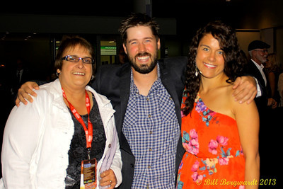 Angie Morris, Drew Gregory and fiance Erinn